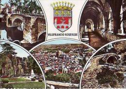 Villefranche De Rouergue   H115            5 Vues Diverses - Villefranche De Rouergue