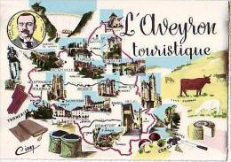 Divers   H132           Contour Géographique ( L'Aveyron  Touristique ) - Ohne Zuordnung