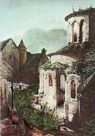 Conques   H134            Le Vieux Rouergue. L'abbaye ( Dessin De Chapuy ) - France