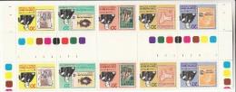 Christmas Island MNH Scott #90 Gutter Strips Of 5 Sir Rowland Hill, Christmas Island Stamps - Christmas Island