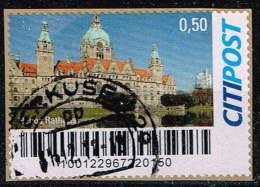 CitiPost, Neues Rathaus Auf Papier - [7] République Fédérale