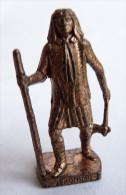 FIGURINE KINDER  METAL  INDIEN I - 7 GERONIMO Cuivre - KRIEGER Ber�mmte Indianer-H�uptlinge