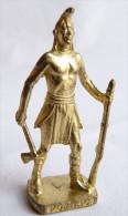 FIGURINE KINDER  METAL  INDIEN II - 1 PONTIAC OR - KRIEGER Ber�mmte Indianer-H�uptlinge