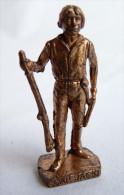 FIGURINE KINDER  METAL  INDIEN II - 4 CAP JACK CUIVRE - KRIEGER Ber�mmte Indianer-H�uptlinge
