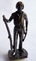 FIGURINE KINDER  METAL  INDIEN II - 4 CAP JACK VIEUX BRUNI - KRIEGER Ber�mmte Indianer-H�uptlinge