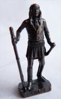FIGURINE KINDER  METAL  INDIEN II - 5 CHATO VIEUX BRUNI - KRIEGER Ber�mmte Indianer-H�uptlinge