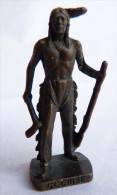 FIGURINE KINDER  METAL  INDIEN II - 6 COCHISE VIEUX BRUNI - KRIEGER Ber�mmte Indianer-H�uptlinge