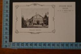 1903  PIACENZA  Esposizione avicola. Rara cartolina .Cartolina  Comitato