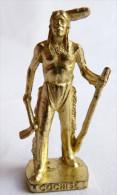FIGURINE KINDER  METAL  INDIEN II - 6 COCHISE OR - KRIEGER Ber�mmte Indianer-H�uptlinge