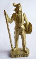 FIGURINE KINDER  METAL  INDIEN II - 7 LITTLE CROW OR - KRIEGER Ber�mmte Indianer-H�uptlinge