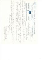 1896  Lettre Invoice Watson & Scull Horticultural Thames Street London - Regno Unito