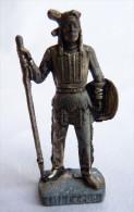 FIGURINE KINDER  METAL  INDIEN II - 7 LITTLE CROW VIEL ARGENT - KRIEGER Ber�mmte Indianer-H�uptlinge
