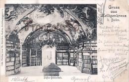 Gruss Aus Heiligenkreuz B. Baden - Stifts Bibliotek 1899 - Heiligenkreuz