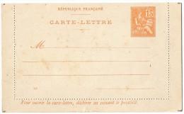 TB 190 - Entier Postal Type Mouchon - Carte Lettre  Neuve - Postal Stamped Stationery
