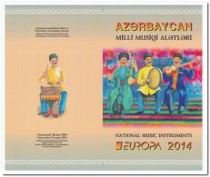 Azerbeidzjan 2014, Postfris MNH, Booklet Music - Azerbeidzjan
