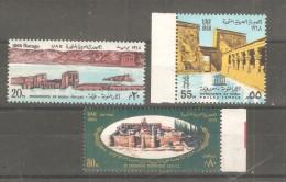 Serie Nº 726/7 +A-102  UAR - UNESCO