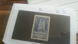 LOT 219732 TIMBRE DE FRANCE NEUF** N�399 VALEUR 20 EUROS LUXE