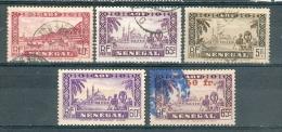 Collection SENEGAL ; Colonies ; 1935-44 ; Y&T N°   ;  Lot  008  ;  Neuf  / Oblitéré - Sénégal (1887-1944)