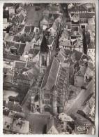 BRIE COMTE ROBERT 77 - Vue Aérienne De L'Eglise - CPSM Dentelée Noir Et Blanc GF 1960 - Seine Et Marne - Brie Comte Robert