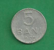 = ROMANIA - 5 BANI  - 1975  # 256 = - Romania