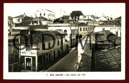 RIO MAIOR - UM TRECHO DA VILA - 1940 REAL PHOTO PC - Santarem