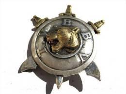 ANCIEN INSIGNE COMMANDO PERIODE INDOCHINE TVBBV DRAGO OLIVIER METRA ETAT EXCELLENT