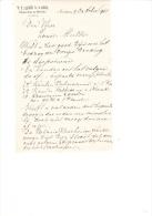 1901 Factuur Brief Invoice W.D. Keessen & Zonen Aalsmeer Bloemisten En Boomkweekers Horticulture - Netherlands