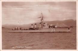 CPA MARINE GUERRE TORPILLEUR TEMPETE - Unterseeboote