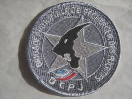 INSIGNE TISSUS PATCH POLICE NATIONALE LA BNRF DCPJ  ETAT EXCELLENT