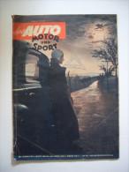 Auto Motor Sport 22. September 1951 - Automobili & Trasporti
