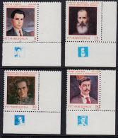 B5175 MACEDONIA 1994, SG 74-7 Famous Revolutionary Politicians  MNH - Macedonia
