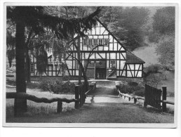 Essen-Margaretenhöhe, Halbach-Hammer, Nachtigallental, Techn. Kulturdenkmal. Normalformat - Essen