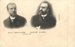 PAUL DEROULEDE  ET MARCEL HABERT - Personnages