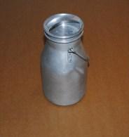 Vintage Milk CAN Cream FARM Tool Home Decor ART Design Rustic Style Aluminum Pot à Lait - Cannettes