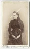 CDV 1891-Marie Thérèse De Villiers- Photo Léon- Photographie Des Amis à Paris - Foto