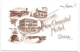 The New Oriental Hotel - Galle - Ceylon - Sri Lanka (Ceylon)