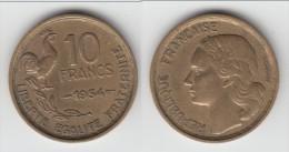**** 10 FRANCS 1954 GUIRAUD **** EN ACHAT IMMEDIAT !!! - K. 10 Francs