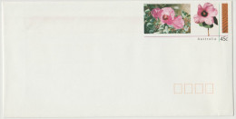 AUSTRALIA - Prepaid Envelope - Intero Postale - Desert Flowers Bush Hibiscus, Knobby Hibiscus (Radyera Farragei) - New - Postal Stationery