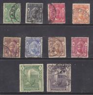 Zanzibar: Sultan Kalif-bin-Hamoud-Naherud  1936 ,10 Stamps To 2/=, Used - Zanzibar (...-1963)