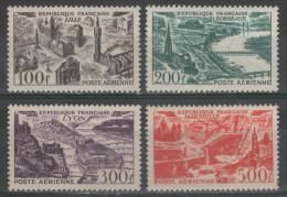 Poste Aérienne N° 24 à 27 Neuf ** Gomme D'Origine à 20% De La Cote  TTB - 1927-1959 Mint/hinged