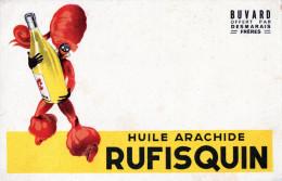 -  BUVARD  Huile Arachide RUFISQUIN  - 710 - Produits Ménagers