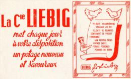 -  BUVARD  - Produit LIEBIG - 714 - Potages & Sauces