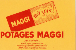 -  BUVARD  - POTAGES MAGGI - 717 - Soups & Sauces