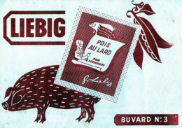 -  BUVARD  N°3 LIEBIG - 718 - Potages & Sauces