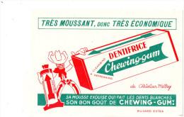 -  BUVARD  DENTIFRICE CHEWING-GUM De Christian MERRY - 719 - Perfume & Beauty