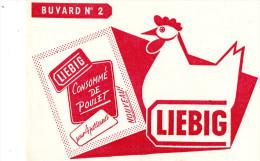 -  BUVARD  N°2 POTAGES LIEBIG - 721 - Minestre & Sughi