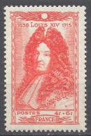 France YT N°617 Louis XIV Neuf ** - Nuovi