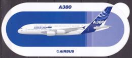 Autocollant Airbus - Avion De Ligne A380 - Aufkleber
