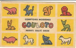 Carton Jeux De 19.5x11.5  PUB  Chicorée LEROUX   Comptoir Modernes  142 ( Envoi Sepcial) - Unclassified
