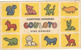 Carton Jeux De 19.5x11.5  PUB  Chicorée LEROUX   Comptoir Modernes  139 ( Envoi Sepcial) - Unclassified
